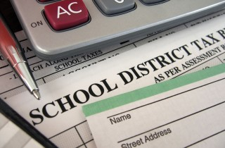 Klein school district taxes