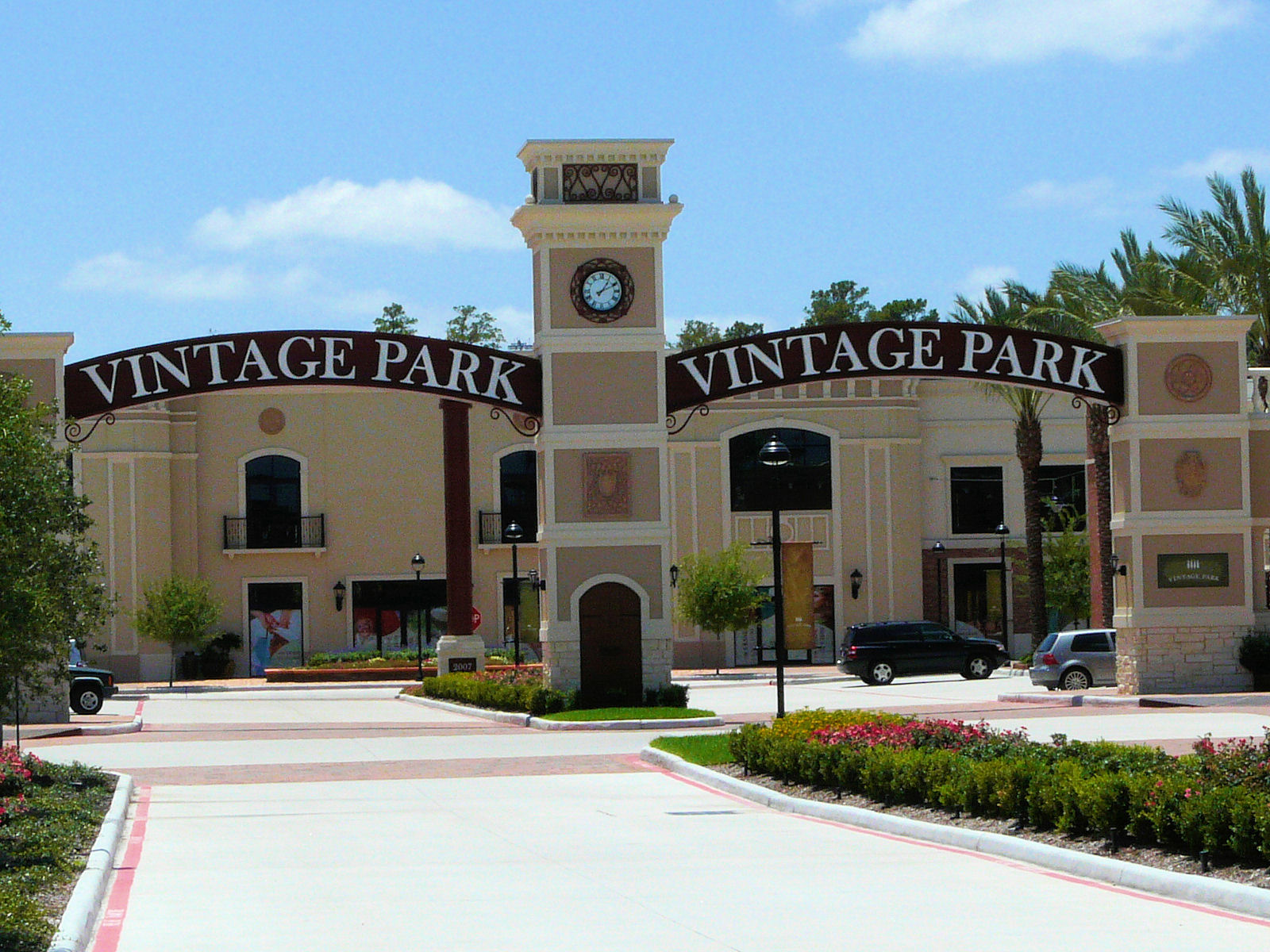 vintage park shopping rendering Drink
