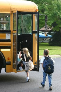 Riding the Spring Texas Schools Bus