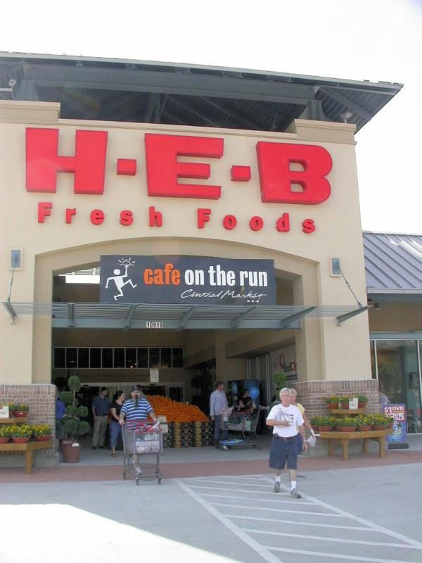 HEB at Vintage Market