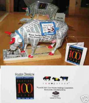 houston chronicle cow