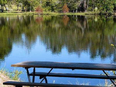 Meyer Park fishing lake
