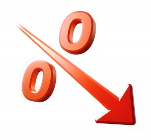 Decrease in home mortgage interest rates