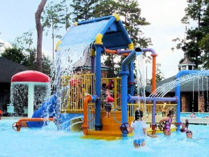 Gleannloch Farms splash pad