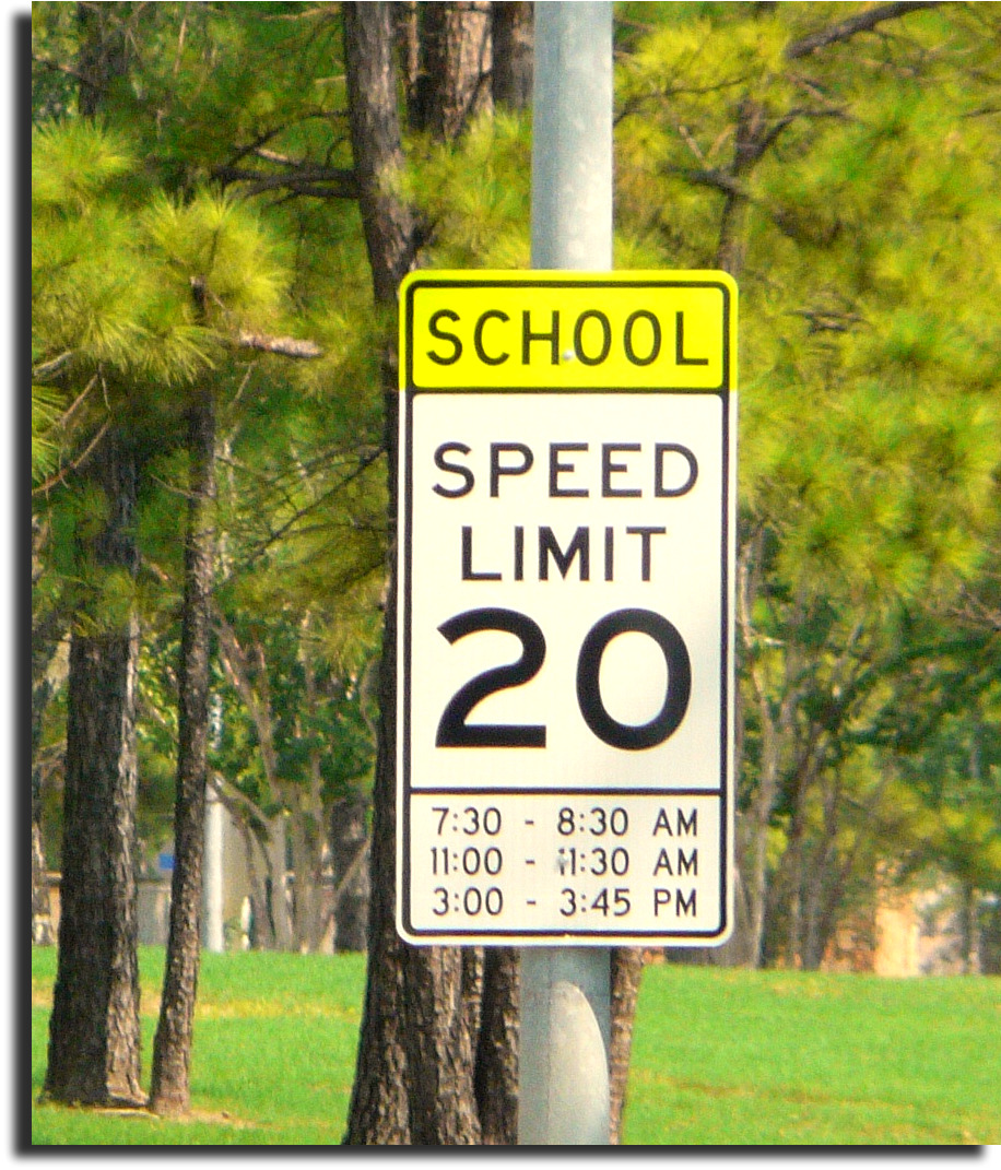 Spring Texas school zone speed limits