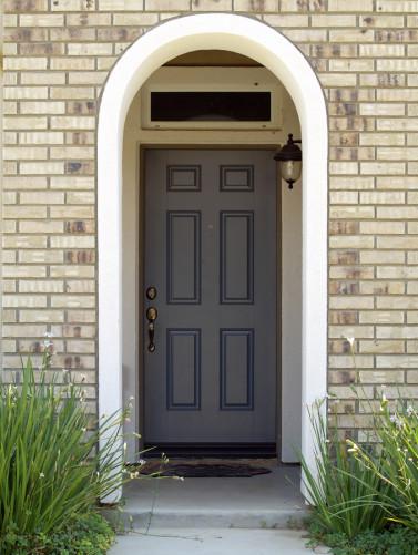 front door of Spring Texas house