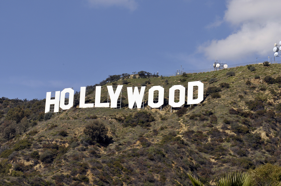 Hollywood sign - celebrities from Spring Texas