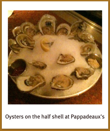 oysters at pappadeaux