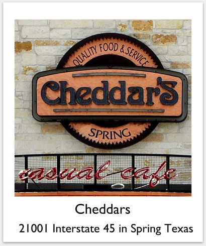Cheddars Spring Texas
