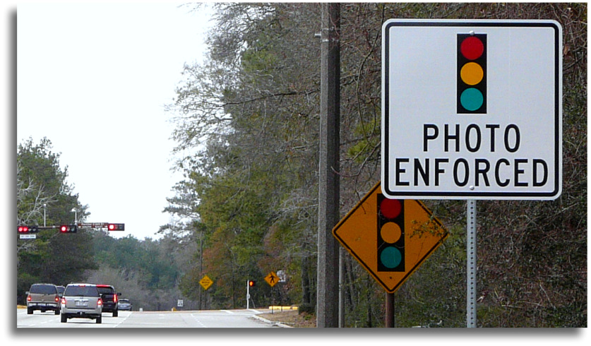 red light cameras the woodlands texas