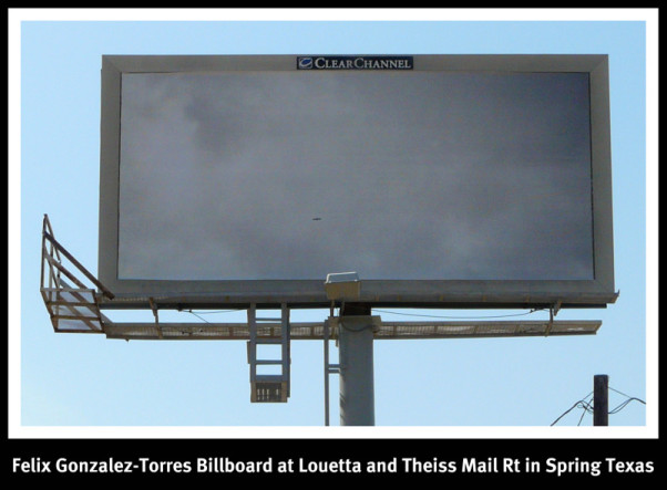 Felix Gonzalez Billboard spring tx