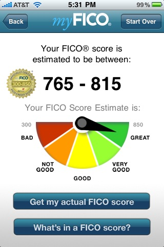 iphone FICO score App