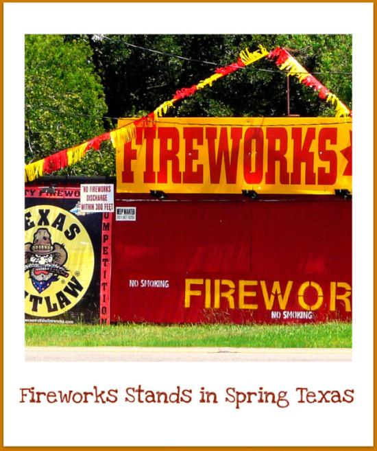 Spring TX fireworks stands