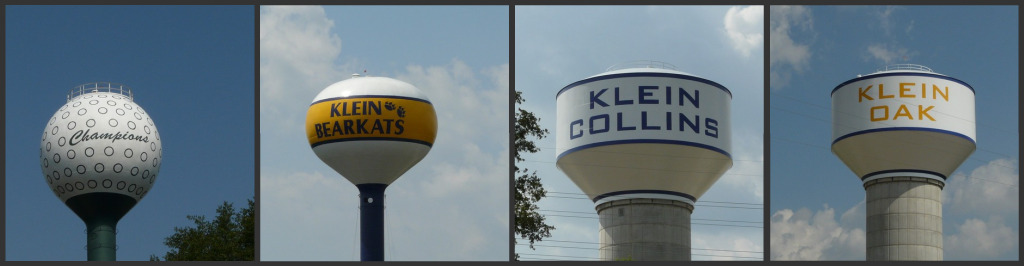 Spring Texas water towers