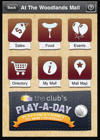 Woodlands mall iphone shopping app
