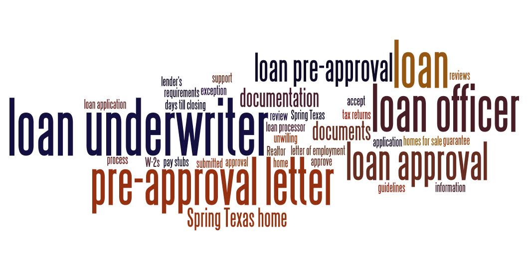 home loan pre approval letters