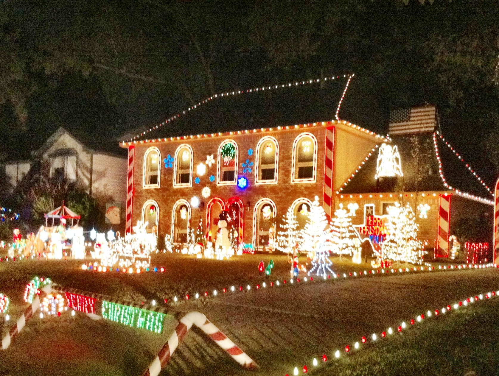 Best Christmas Light Displays In Northwest Houston Spring