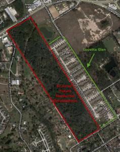 Louetta Glen subdivision