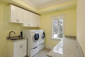 Utility room Spring Texas homes
