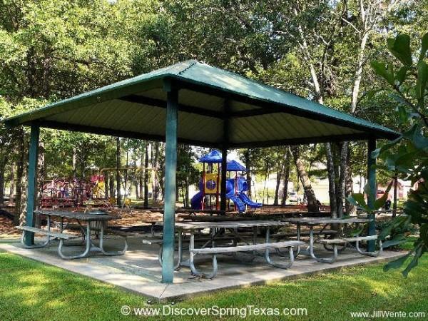 Devonshire Woods pavillion