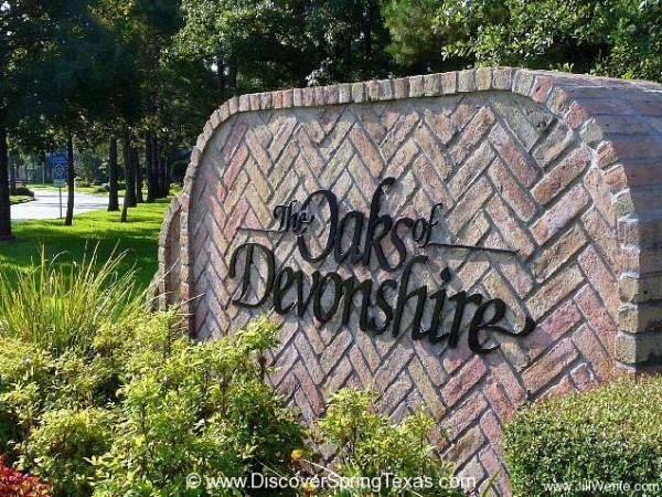 Oaks of Devonshire spring tx