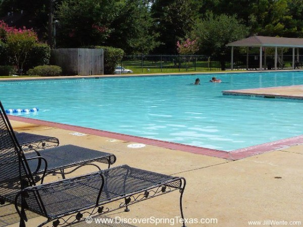 Spring Creek Forest swimming pool