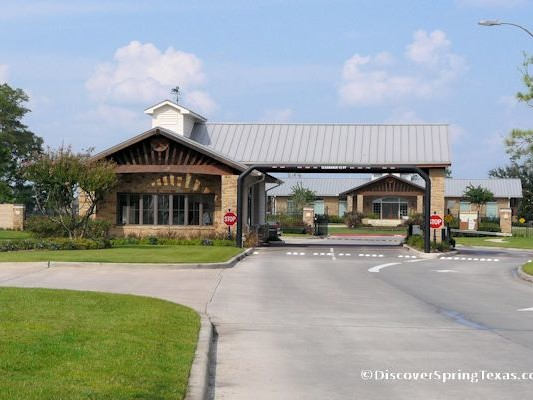 guard gated communities Spring TX