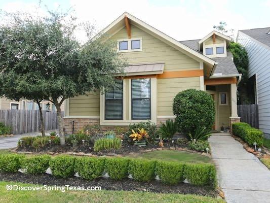 ... Legends Ranch Spring Tx Patio Homes