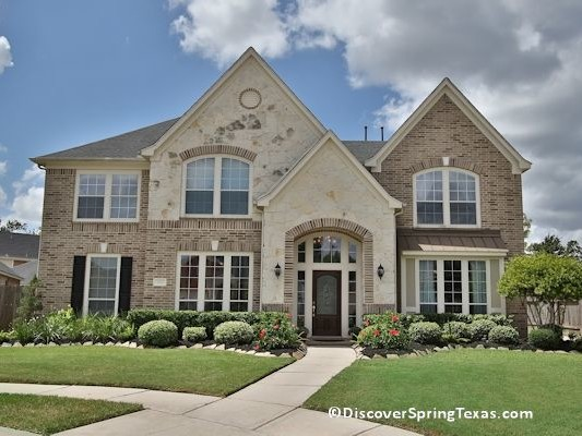 Spring Lakes gated subdivision houses