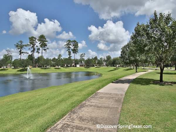 Spring Lakes gated community