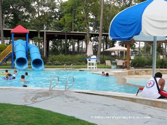 Legends Ranch Spring Texas water slide