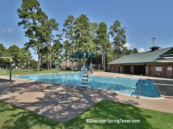 cypresswood swimming pool water slides