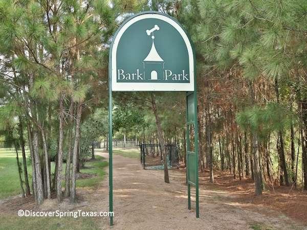 dog parks Spring Texas