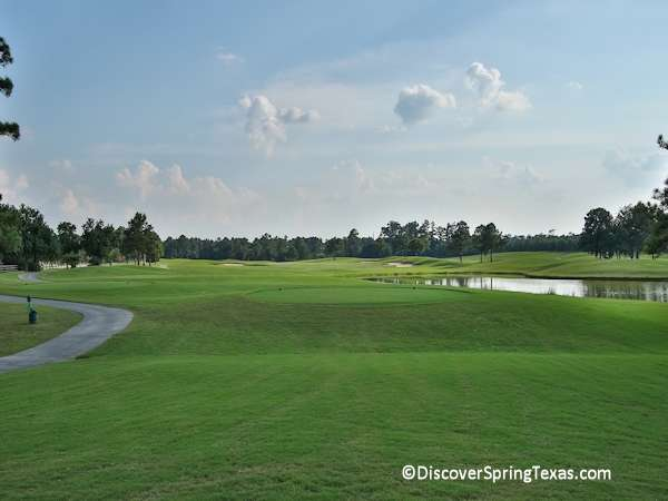 golf course communities Spring Texas
