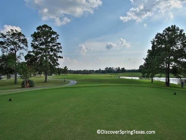 golf course communities Spring Texas
