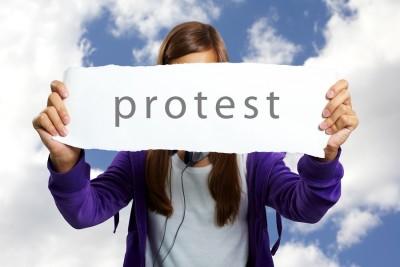 protest Spring Texas property taxes