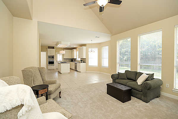 5807 Desert Oak Way open floor plan