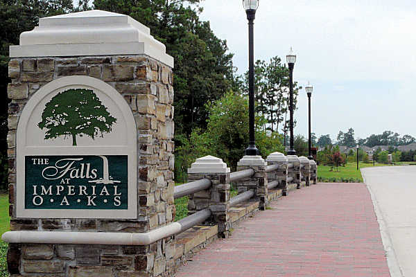 Falls at Imperials Oaks master planned community