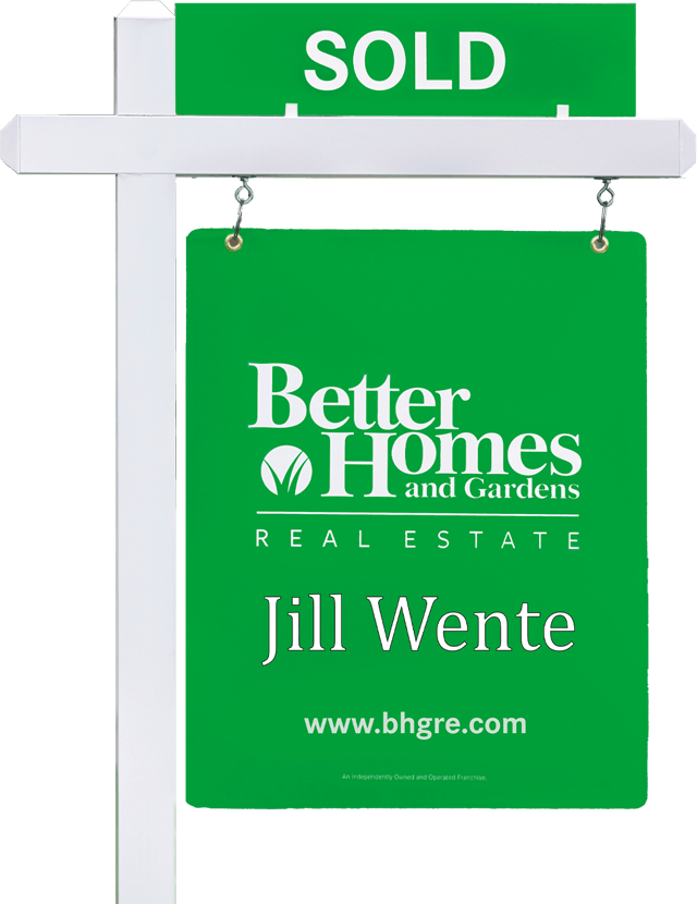 bhgre real estate sold sign spring tx jill wente
