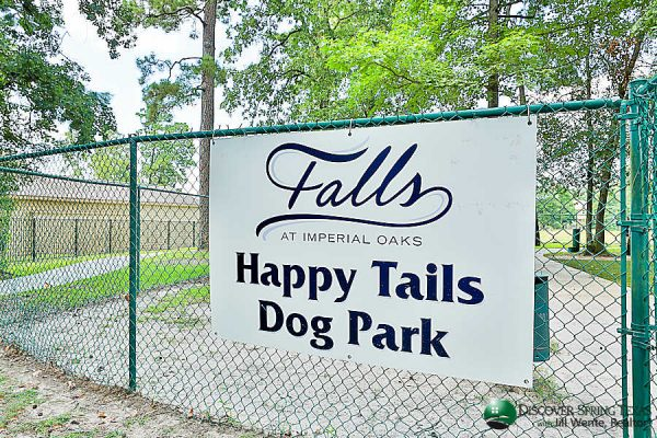 falls at imperial oaks dog park