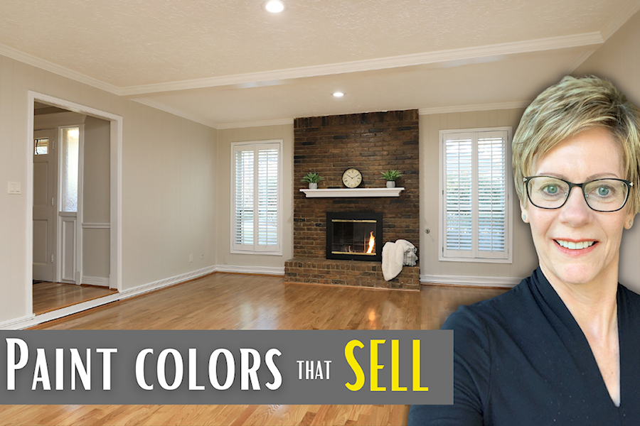 best paint colors when selling your home