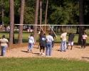 Collins Park sand volleyball court