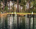Lakes of Cypress Forest fountains