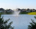 Louetta Lakes fountain
