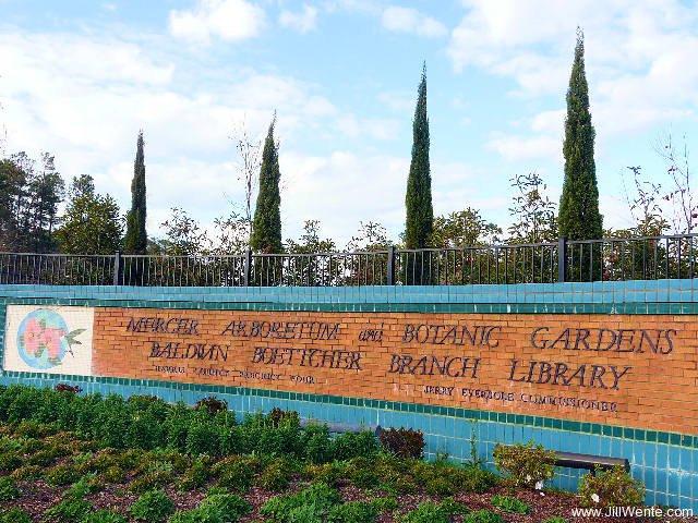 Mercer Arboretum U0026 Botanic Gardens Entrance